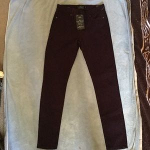 NEW Lucky Brand- mid rise legging jeans